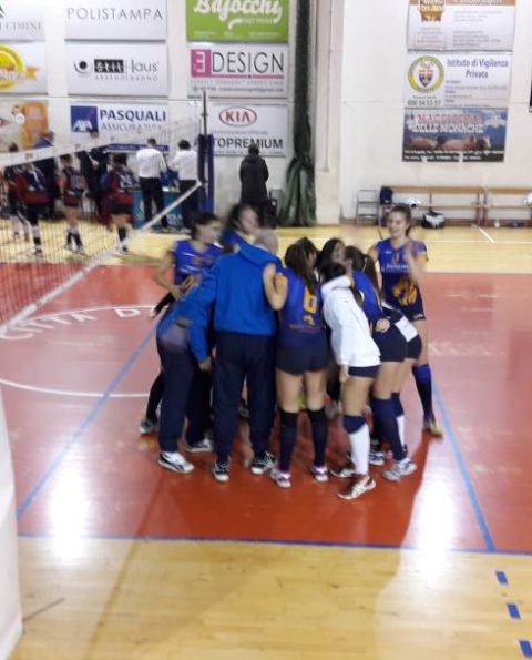 Vbc prima in casa con Volley Group Palocco