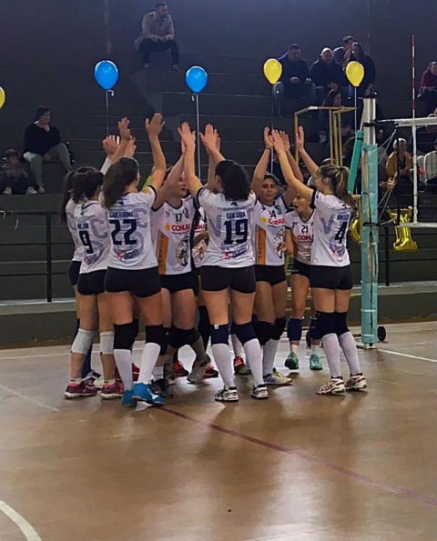 Serie D, Vbc Polistampa – Volley4us Anagni 1/3