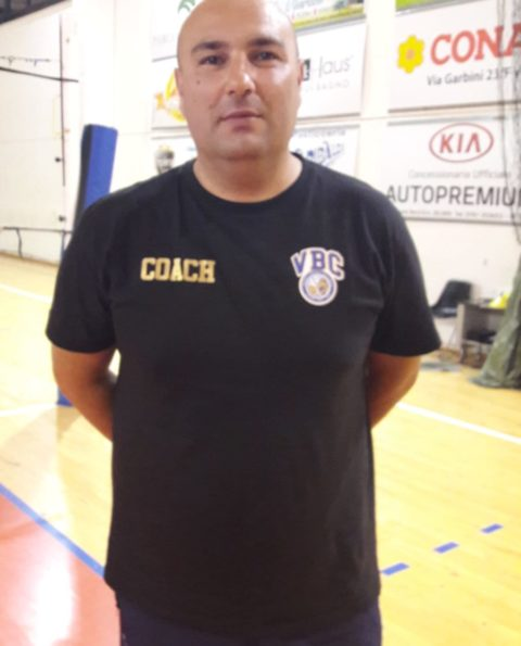 Volley B2F, coach Giandomenico già al lavoro